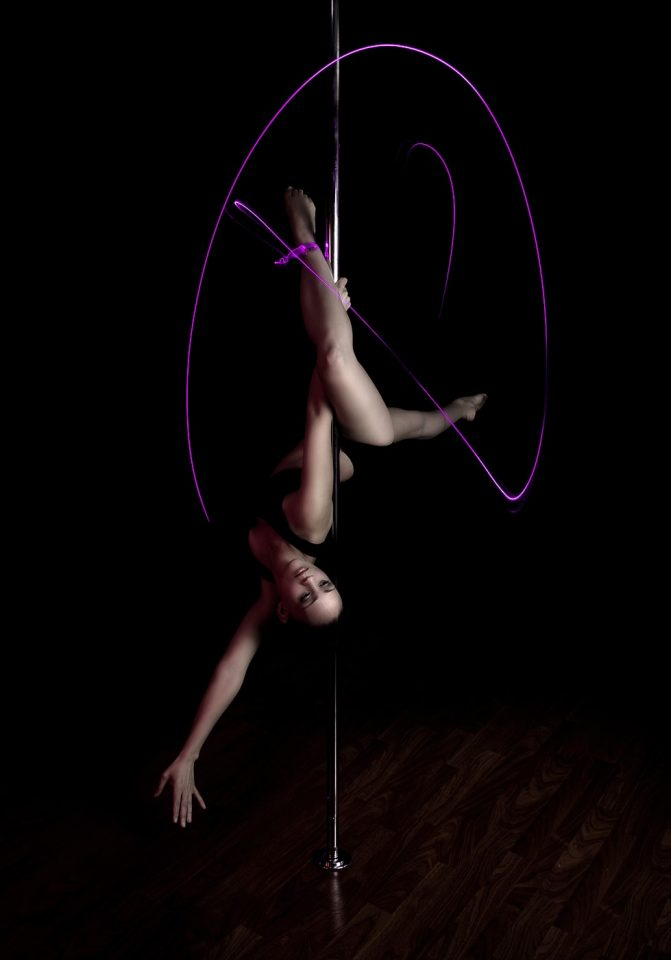 Portraits of a Pole Dancer
