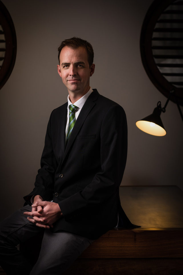 Portraits of Dr Ben Grey