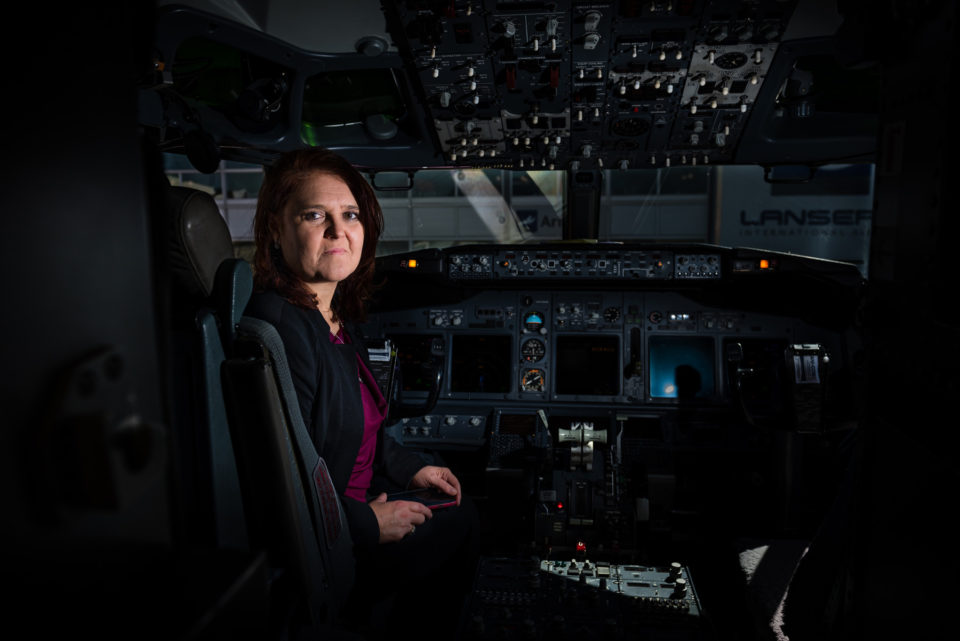 Portrait of Marelize Labuschagne, Mango Airlines CFO