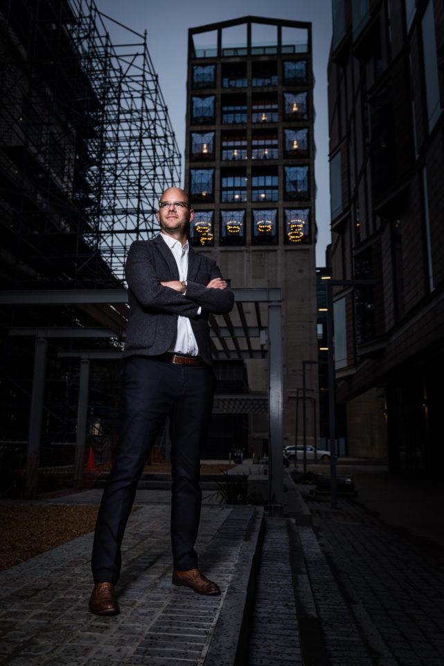 Portrait of Mark Noble, Development V&A Waterfront